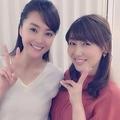 観月ありさと安めぐみ(出典:https://www.instagram.com/alisa_mizuki)