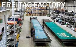 フライターグ工場を再現したエキシビジョン 京都アーバンリサーチで開催