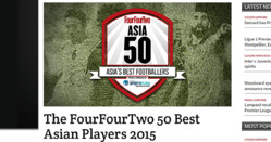 「アジアのサッカー選手トップ50」(5)