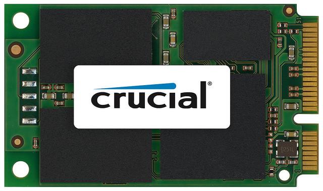 Ultrabookをパワーアップ! mSATA対応の小型SSDがマイクロンより登場
