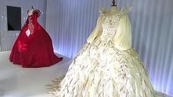 「白雪姫と鏡の女王」悪女役ジュリア・ロバーツ着用衣装がスワロフスキー銀座に
