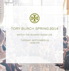 【生中継】トリーバーチ 2014年春夏コレクションをライブ配信