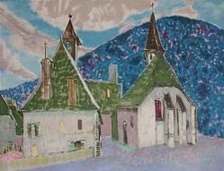 日本人の心で、フランスを詩う画家!村山密展「ムルロ工房のオリジナルリトグラフ」【Art Gallery M84】