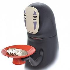 千と千尋の神隠し」カオナシ コインを食べる貯金箱が登場
