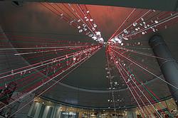 渋谷ヒカリエ 形の無いクリスマスツリー点灯 ライゾマティクスがプロデュース