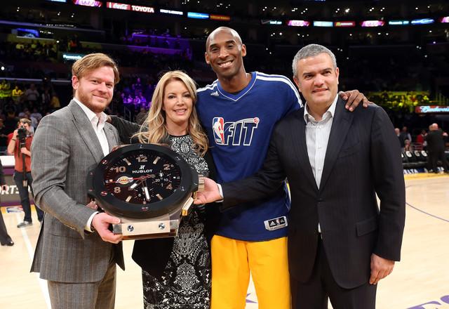 ウブロがNBAの人気チーム、ロサンゼルス・レイカーズ初の オフィシャルタイムキーパーに就任