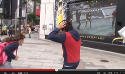 銀座の街にレモンが降る? 通行人を驚かせているAR装置『シュウェップス サプライズ ビジョン』の仕掛けと舞台裏が動画で公開