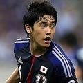 【90+1分】「緊張していた」という本田圭佑がど真ん中にPKを決め、日本は同点に追いついた。そのまま1-1でタイムアップ。日本は5大会連続で世界最速予選突破を決めた。 (撮影:岸本勉/PICSPORT)  [2013年6月4日、埼玉スタジアム]