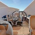 エアバス社が驚愕の客室デザインを発表「天井から空が見える」