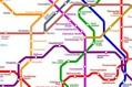 「世界中の地下鉄」に乗り換えできる路線図をつくってみた