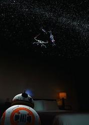 天井の星空と足元のBB-8に癒やされる〜  - (C)&TM Lucasfilm ltd.