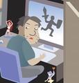"""ゲームの達人雇い息子""""秒殺""""、仕事しない状況見かねた父親の作戦。"""