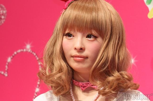1月29日生まれ、19歳になったばかり。モデルで歌手のきゃりーぱみゅぱみゅ (撮影:野原誠治)