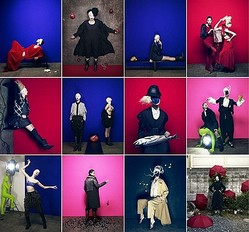 リミ フゥ、女性と服の関係を12枚のアートヴィジュアルで表現