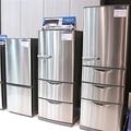 アクアの新しい冷蔵庫と洗濯機 上品なツヤを帯びたステンレスを採用