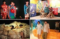 ファッションの展覧会「絶命展」のショー 国立新美術館で開催へ