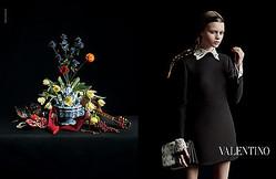 ヴァレンティノの絵画のような最新広告 イネス&ヴィノートが撮影