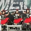Babymetal onstage in Gelsenkirchen, Germany, in 2015(出典:https://twitter.com/billboard)