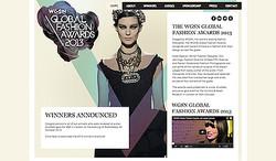 クリストファー・ベイリーがWGSNアワード2013最優秀功績賞を受賞