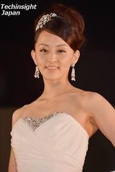 イベントにドレスで登場した田中理恵。今は体重管理はしていない?