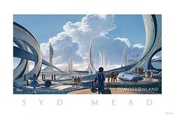 手掛けたのはあのシド・ミード! 『トゥモローランド』コンセプトアート公開!  - (C) 2014 Disney Enterprise,inc. All Rights Reserved.
