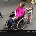 ユナイテッド航空のCAに酷い対応を受けた94歳女性(出典:https://www.facebook.com/marianne777)