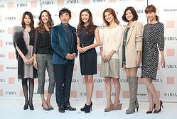 山田優をミューズに起用 30〜40代向け新ブランド「ファビア」デビュー