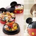 可愛い!新作おせち「おせち・ミッキーマウス・シルエット三段重」/(C)Disney