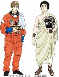 『テルマエ』×『宇宙兄弟』奇跡のコラボ!ルシウスは宇宙 ムッタはローマへ