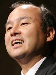 ソフトバンクの孫社長。(資料写真:吉川忠行/05年11月10日)