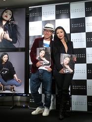 壇蜜が素肌にジャケット姿で来店 バーニーズ ニューヨークでレスリー写真展