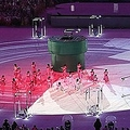 リオ五輪閉会式でみせた日本のプレゼンテーションの様子(写真:中西祐介/アフロスポーツ)