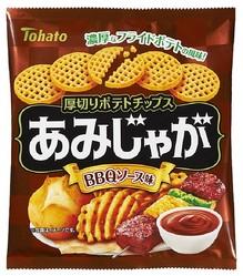 「あみじゃが・BBQソース味」(参考小売価格税別112円)