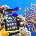 KDDIと沖縄セルラー au向けの海水対応スマホ「TORQUE G02」を発表