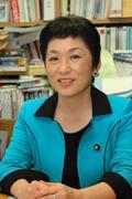 12日、共謀罪について取材に応じた社民党の福島瑞穂党首。(撮影:徳永裕介)