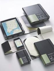 モレスキン iPad & iPhoneケースはノートとセット