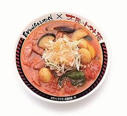 写真は「アスカのトマト麺」