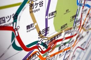 [画像] 東京都の鉄道路線図を見た中国人、あまりの複雑さに「まるで電子回路のようだ」と驚く