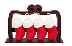 ラデュレ2013年クリスマス限定コレクションはチョコレートのソックスやマカロン