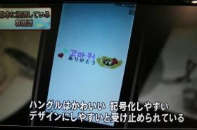 [画像] NHK「ハングル絵文字がブーム」 「知らない」とネット上で疑問相次ぐ