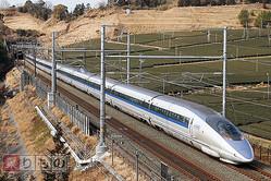 500系は2010年3月以降、山陽新幹線内で「こだま」として運行されている(2010年2月、恵 知仁撮影)。