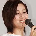 舞台あいさつに登壇した秋吉久美子