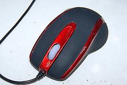 写真1 光学式マウス(LED)