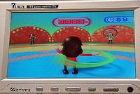 「フープダンス」の画面