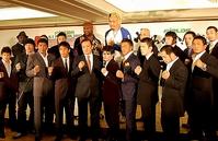魔裟斗、武蔵、マッハ、青木らも駆けつけ、格闘技大連立をアピールした