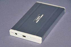 USB接続のハードディスク