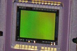 デジタルカメラのCCD