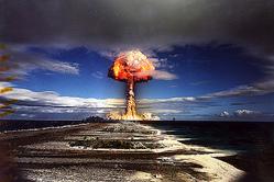 二段階熱核実験「カノープス」 写真:Pierre J.氏