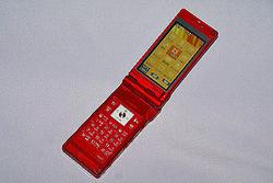 携帯電話には、NOR型フラッシュメモリーを採用している端末がある