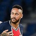 試合中にヒートアップしたネイマール(右)。原因は何だったのか? (C)Getty Images